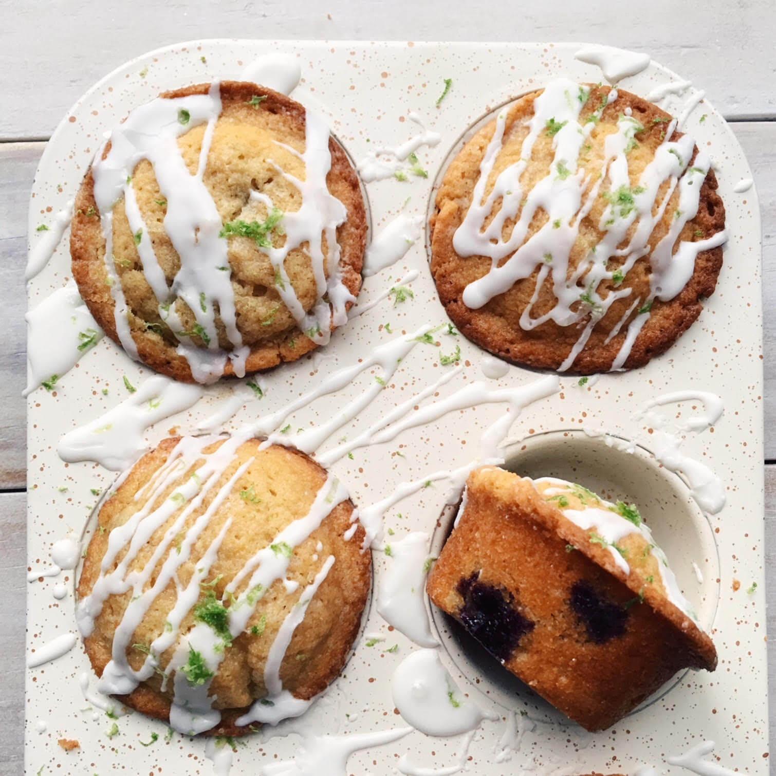Muffins de Limón y Mora